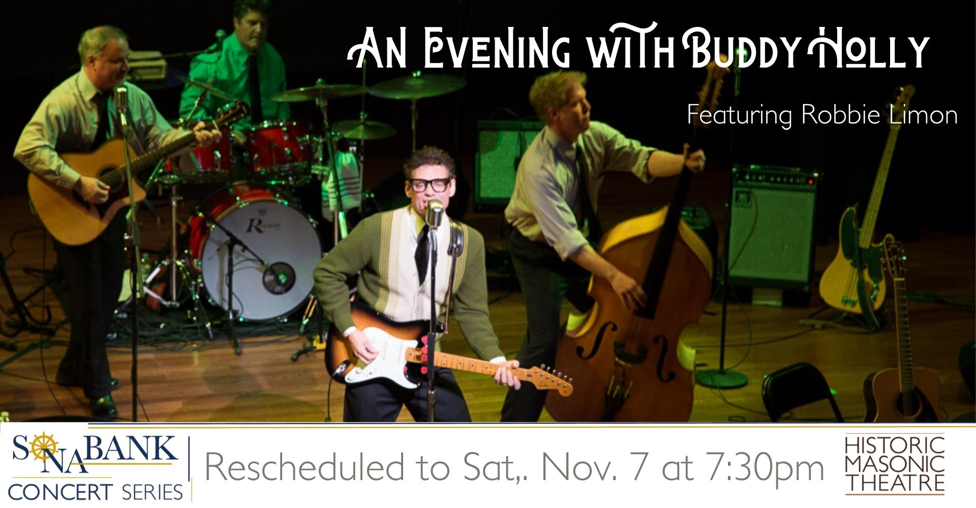 An Evening with Buddy Holly 2020 Nov 7