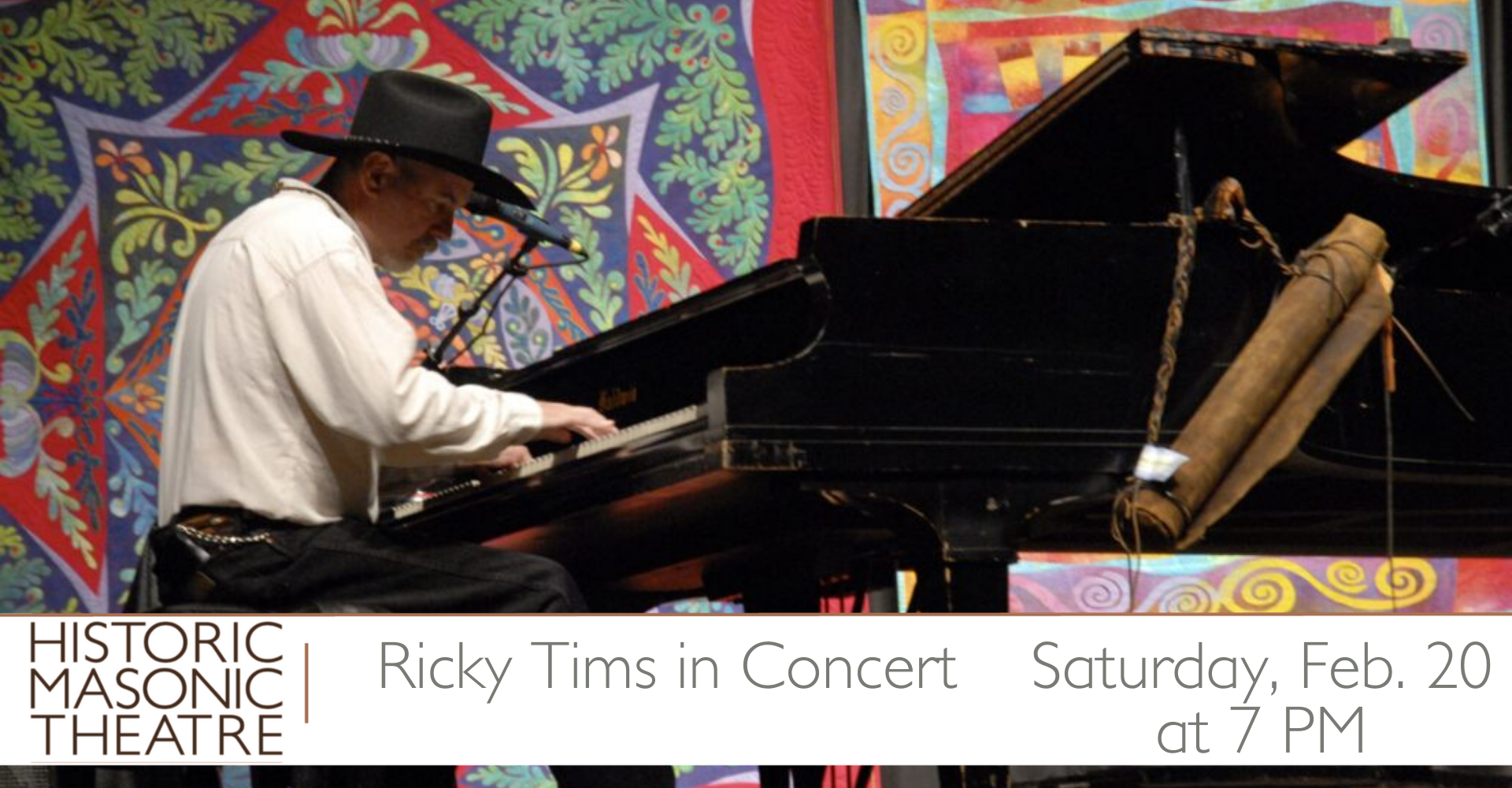 2.20.21 Ricky Tims Concert